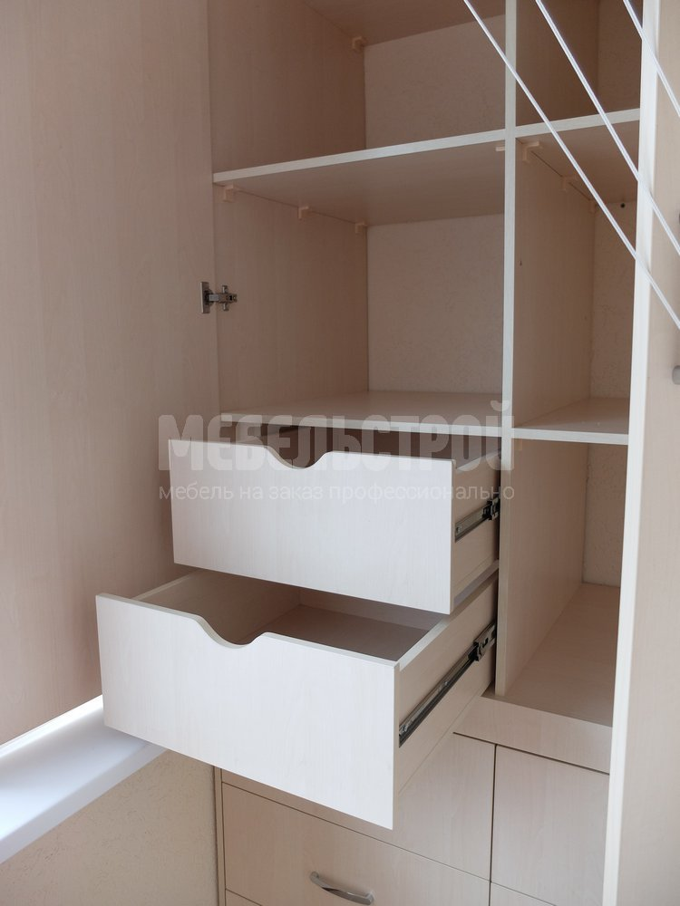 Шкафы для балкона на заказ в Севастополе. Мебельстрой